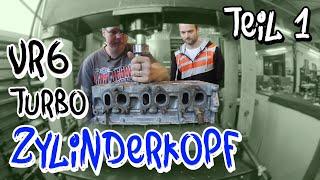 VR6 Turbo Zylinderkopfbearbeitung! Zu Besuch bei NG-Motorsports Teil 1 | Philipp Kaess |