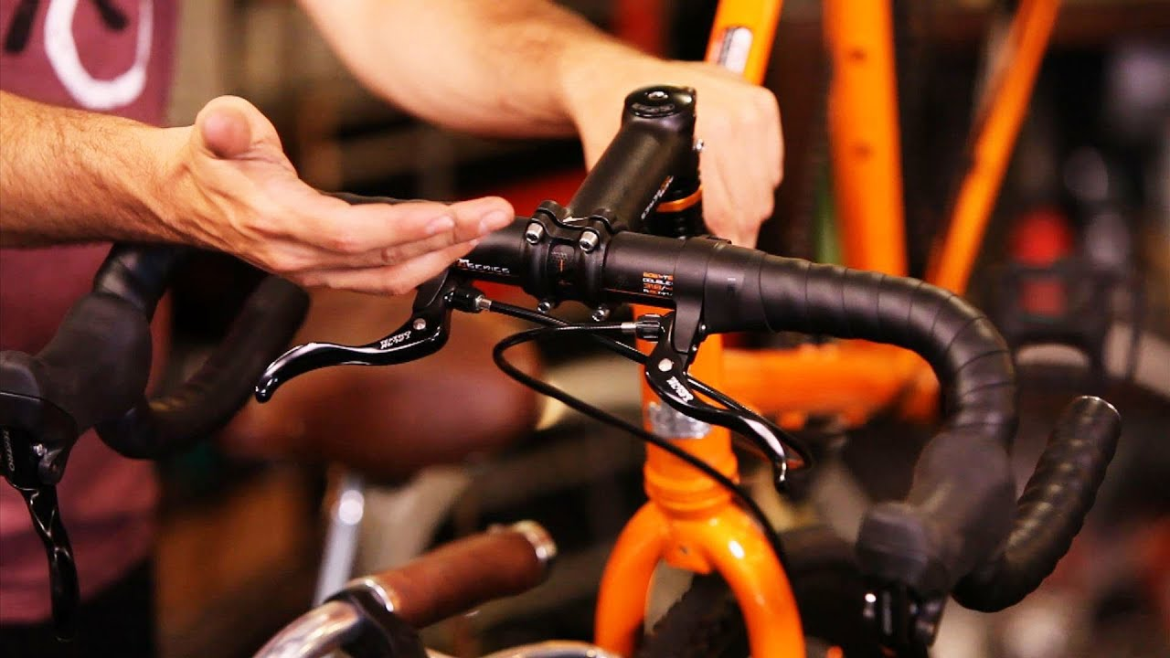 Shift Cable Repair >> How to Replace Handle Bars   Bicycle Repair - YouTube