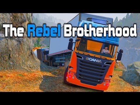 GTA V RP: TRB #14 - Extreme Truckin' Cliff Climb!