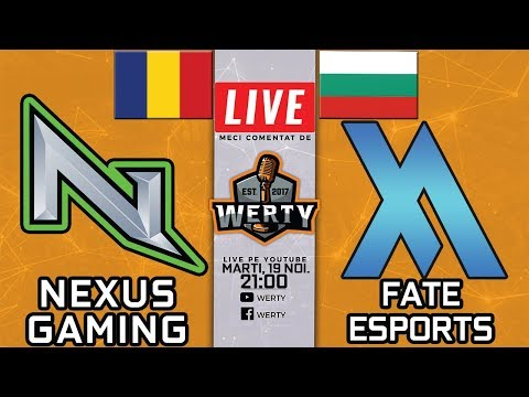 🔴(PLAYOFF CS) NEXUS GAMING (🇷🇴) vs. FATE (🇧🇬) - 12,000 DOLARI ESEA LEAGUE BO3