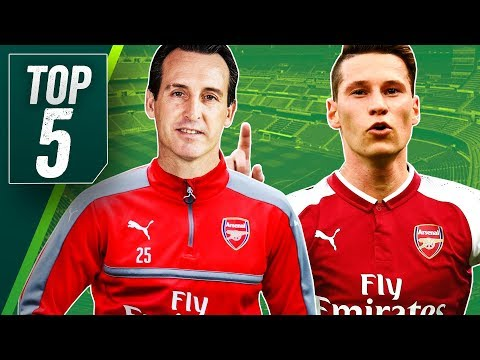 Five Summer Transfers for New Arsenal Manager Unai Emery, including PSG's Draxler