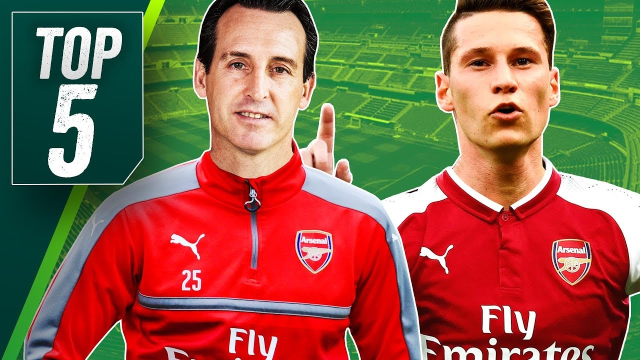 540c9810172 Five Summer Transfers for New Arsenal Manager Unai Emery