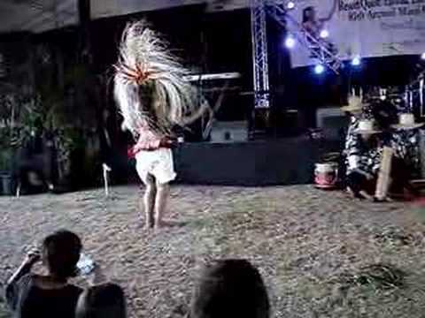 Solo Tahitian Dancer at Maui County Fair