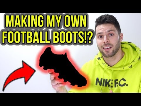 DESIGNING MY OWN FOOTBALL BOOTS? - YouTube