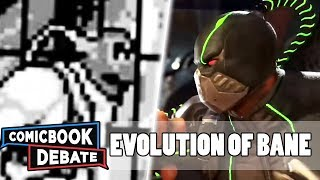 Evolution of Bane in Games in 12 Minutes (2018)