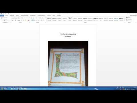 Observaciones Letra Capitular