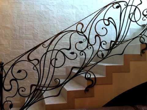 Перила 42  Кованые перила для лестниц в Днепре в Днепропетровске