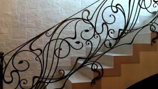 видео Как выбрать кованые перила для лестниц