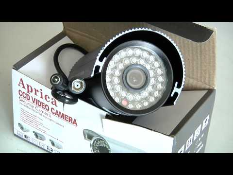 IR DIGITAL CCD VIDEO CAMERA, IR COLOR CCD CAMERA, MODEL AP-6044, PAL
