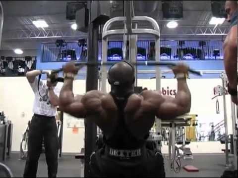Image result for lat pulldown ronnie coleman