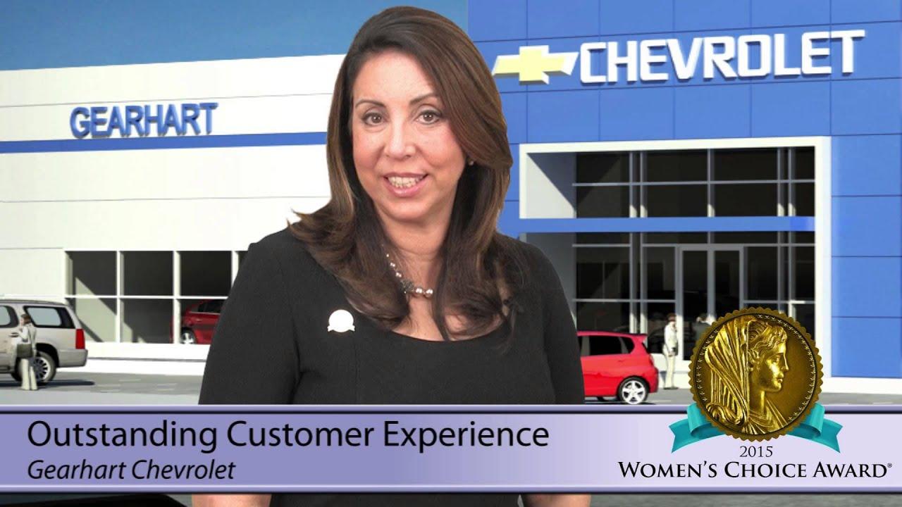 Gear Chevrolet - OCE - 2015 Women's Choice Award - YouTube