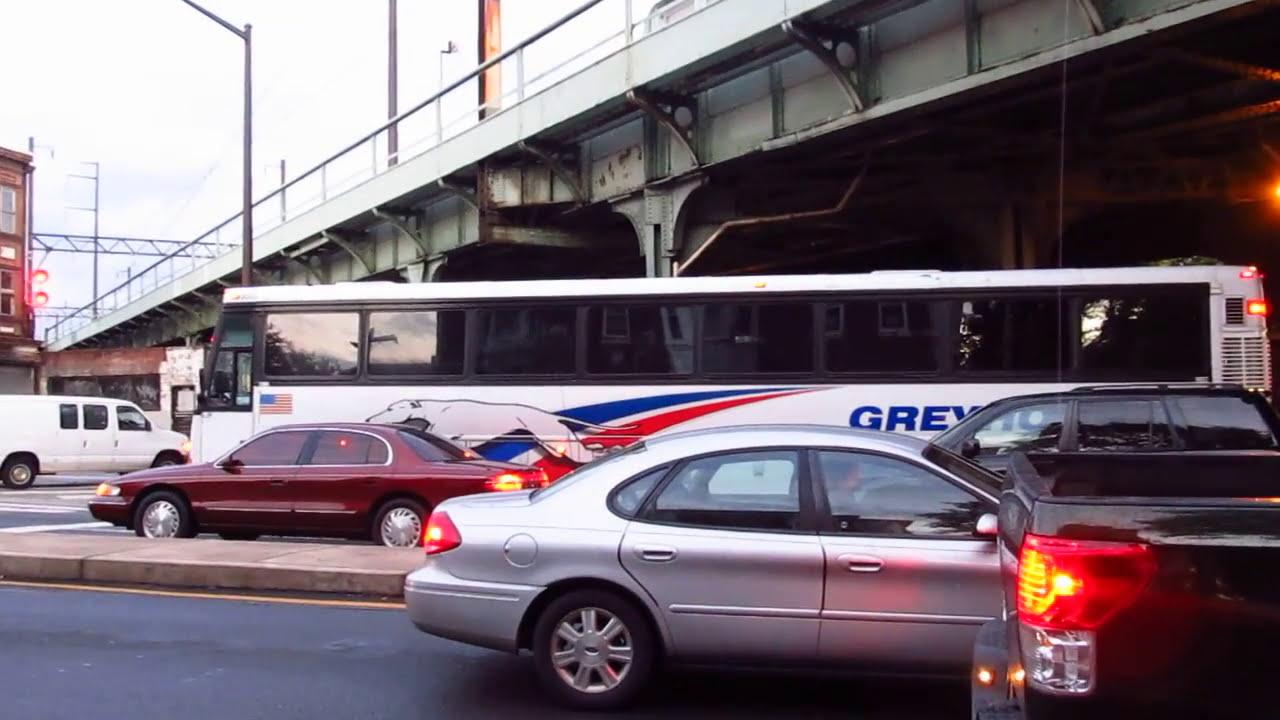 Detroit Diesel Series 60 >> Greyhound Motor Coach Industries D4500 #6003 at Broad ...