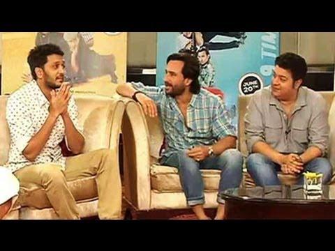 Riteish mimics Aamir, Sanjeev Kumar