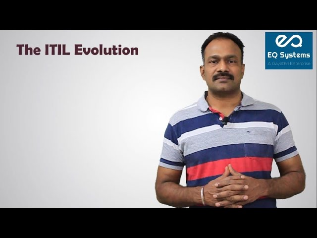 The ITIL Evolution - eQSystems(ITIL, PRINCE2, COBIT5.0 and SCRUM)