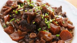 Red Wine Oxtail Stew