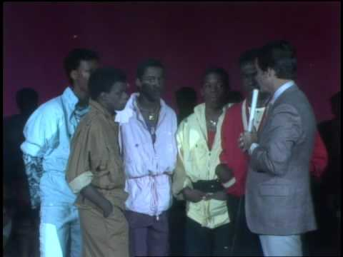 Dick Clark Interviews New Edition- American Bandstand 1984