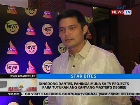 BT: Dingdong Dantes, pahinga muna sa TV projects para tutukan ang kanyang Master's Degree - 동영상
