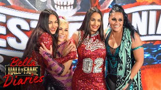 Bella Twins CELEBRATE their HOF Induction at Night 1 of WRESTLEMANIA 37: Bellas Hall of Fame Diaries