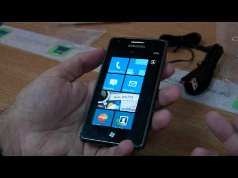 Samsung Omnia M S7530 review HD ( in ROmana ) - www.TelefonulTau.eu -