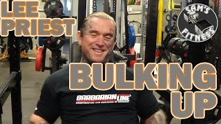 LEE PRIEST discusses BULKING UP in Bodybuilding(To bulk or not to bulk, that is a question facing many bodybuilders. Lee frequently gained plenty of size over the years, before contests, so lets hear what a ..., 2016-02-12T04:00:00.000Z)