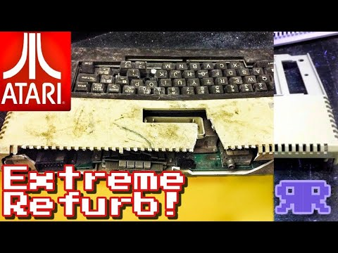 Extreme Refurb: Atari 800XL | Refurbish This!