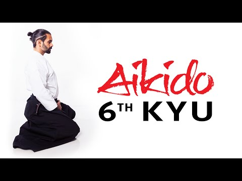 Aikido Techniques for Beginners - 6th Kyu Test Requirements