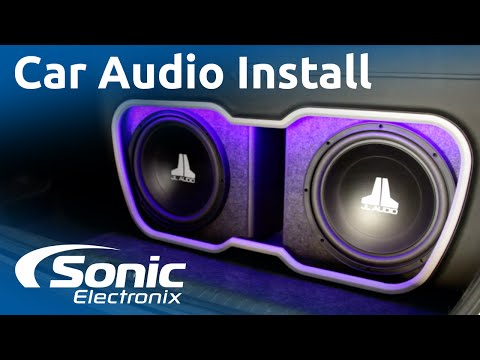 2009 Honda Civic Installation | Full Car Audio System | Custom Enclosure | Sonic Electronix