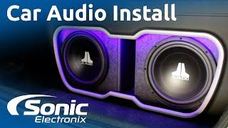 Gambar cover 2009 Honda Civic Installation | Full Car Audio System | Custom Enclosure | Sonic Electronix