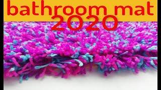 How to make a bathroom rug diy