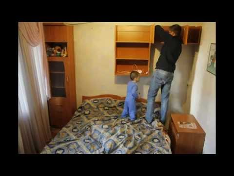 Ремонт детской комнаты за 10 минут (часть1)