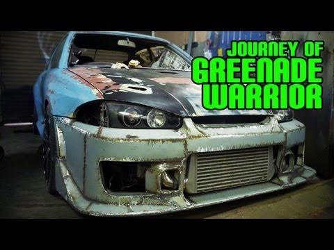 Proton Wira Custom Steel Wide Body Kit | Journey of Greenade Warrior