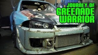 Proton Wira Custom Steel Wide Body Kit | Journey of Greenade Warrior
