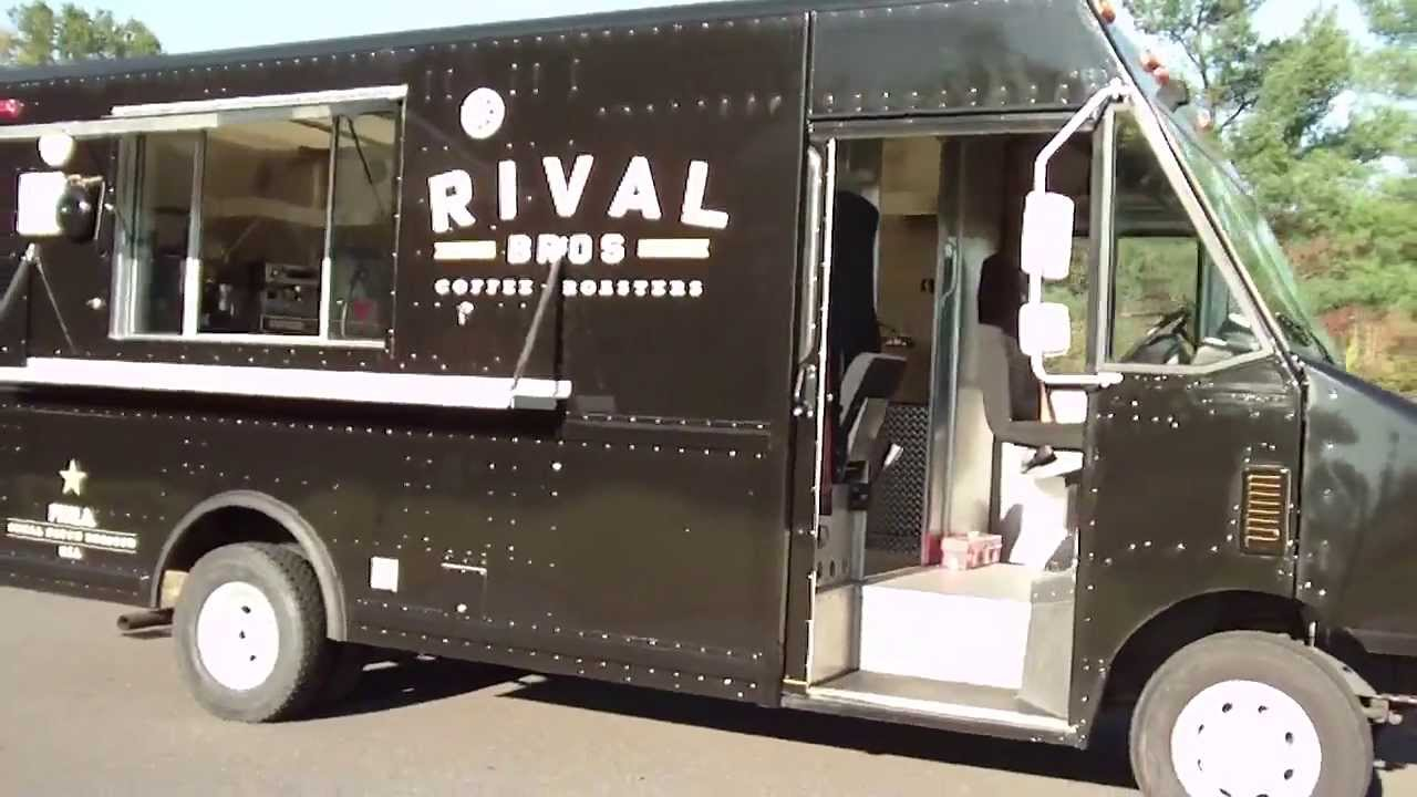 How To Build A Food Truck Better Rival Bros Coffee
