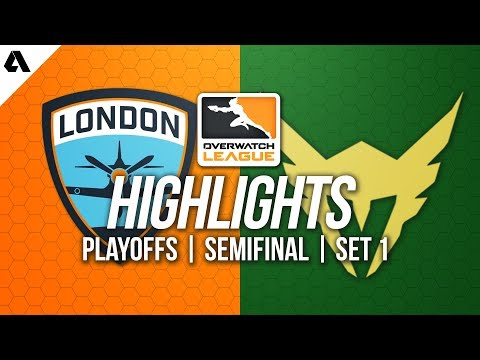 London Spitfire vs Los Angeles Valiant | Overwatch League Playoffs Semifinals Match 1 OWL Highlights