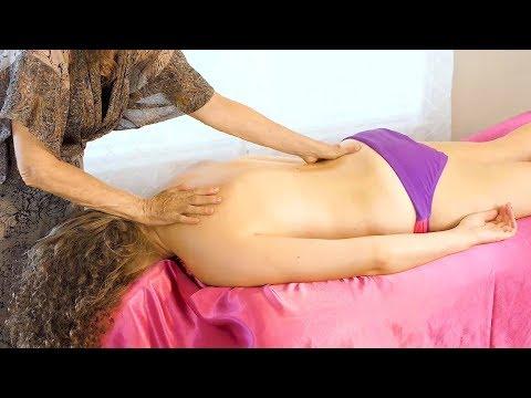 Pure Relaxation Technique ♥ Athena Jezik Shares Back Massage Techniques: Lymphatic, Cranio-Sacral HD