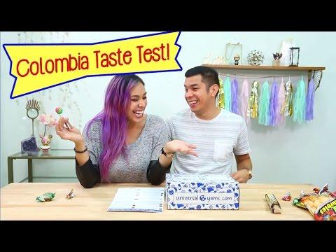 COLOMBIA CANDY TASTE TEST - Yum Yum Box