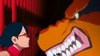 Встреча Сарады и Курамы в аниме Боруто | Станет ли она джинчурики?
