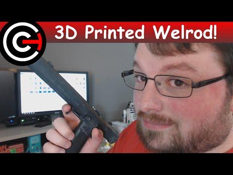3D Printed Welrod Silenced Pistol! - Historical Print