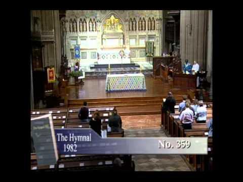 Wall Street Trinity Church - Dec 16, 2011 - Hymn 359 - 12:05pm