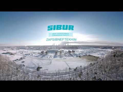 Building one of the largest oil refineries in Siberia in 360