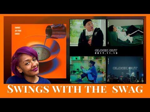 TAM REACTS: Swings 스윙스 FT. Jay Park 박재범 Crush 크러쉬 Clock Out (퇴근)
