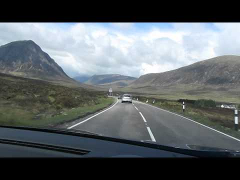 Scotland, Glasgow - Fort William, Road trip
