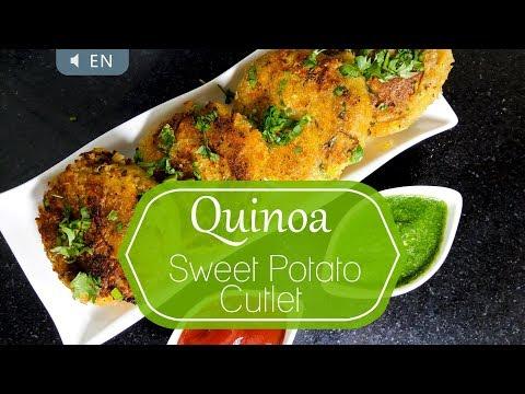 How to cook Quinoa & Sweet Potato Cutlets – High in Protein & Fiber – Kinoa or Quinua Recipe