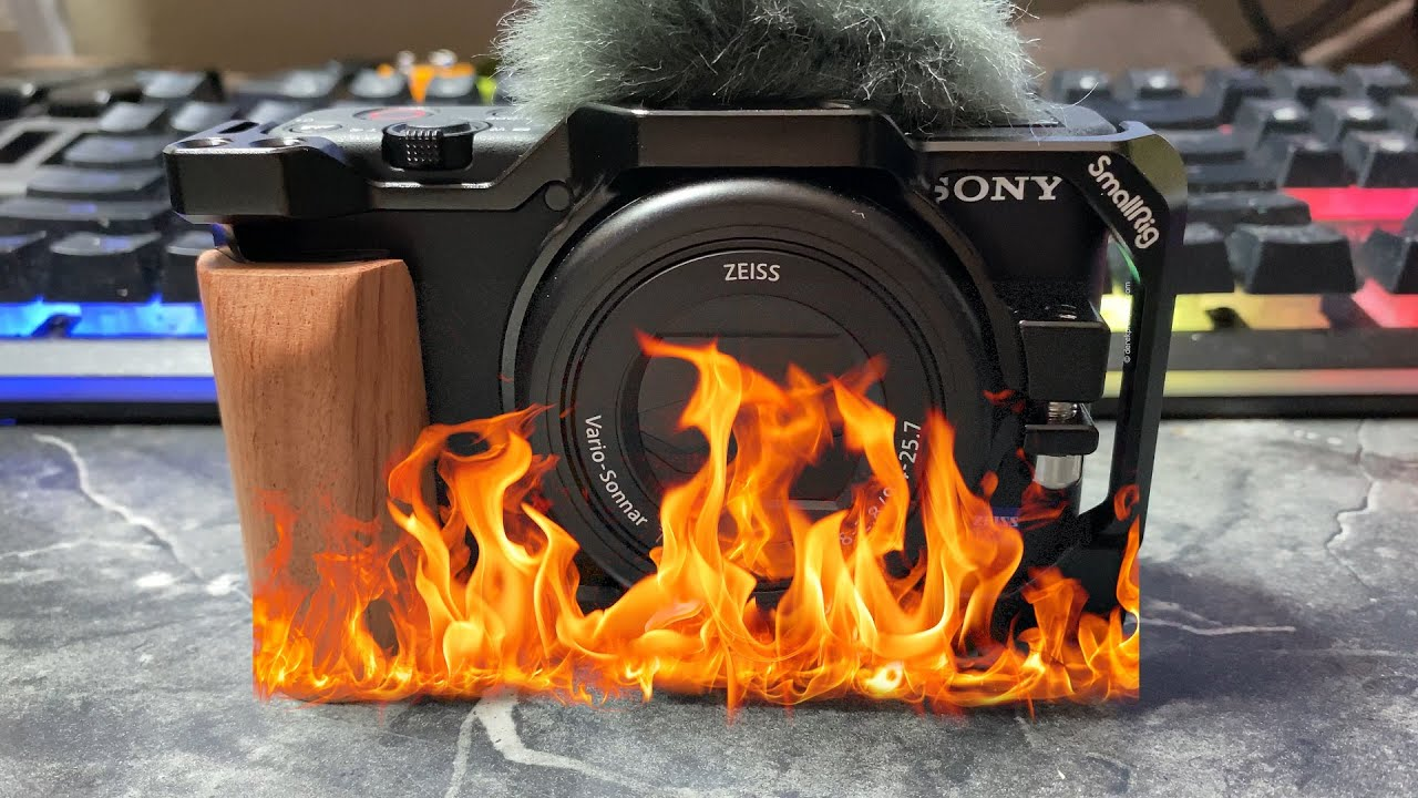 How to keep your Sony ZV-1 from overheating in 4K