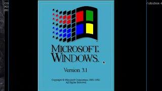 GDPC: Windows 3.1 auf DOSBox installieren alte PC Spiele auf Windows 10 spielen