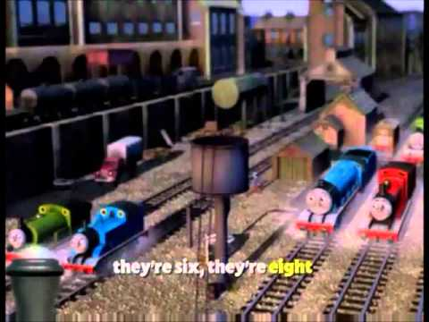 They're two they're four they're six they're eight! Thomas & His Friends!