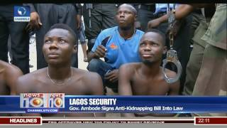 Lagos Security Convicted Kidnappers To Face Life Death Sentences