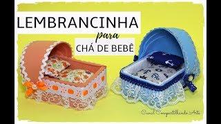 LEMBRANCINHA DE CHÁ DE BEBÊ DE E.V.A