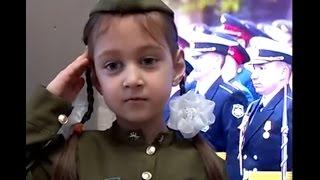 Стихи о войне до слёз Читает девочка 5 лет