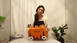 Trunki Ride On Suitcase Review - Tiger